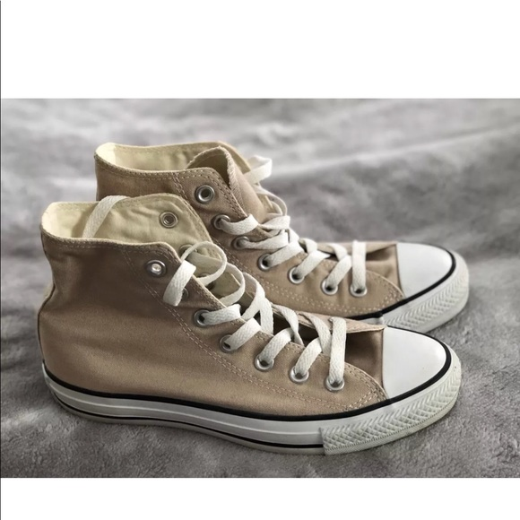All Star Nude High Tops Size 7 Womens